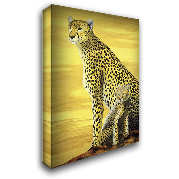 Guardian 28x36 Gallery Wrapped Stretched Canvas Art by Blair, David