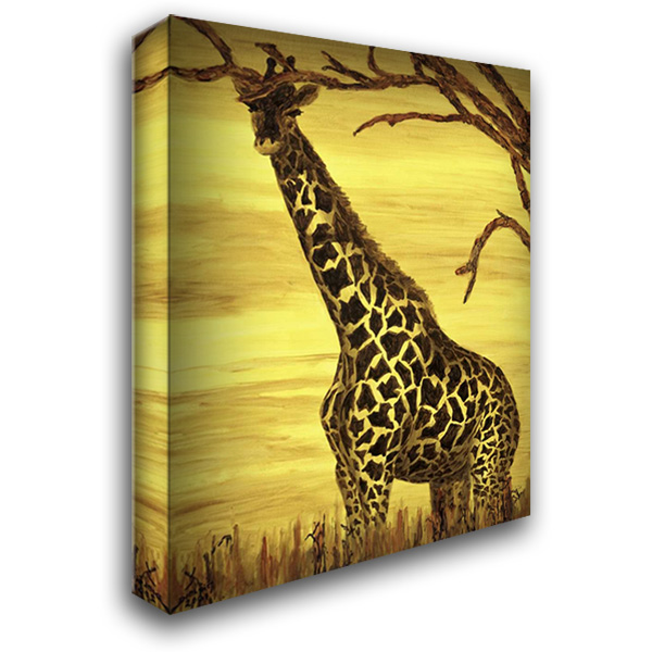 Gentle giant 28x36 Gallery Wrapped Stretched Canvas Art by Blair, David