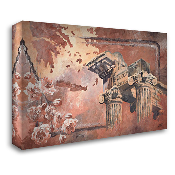 Pillars 40x28 Gallery Wrapped Stretched Canvas Art by Blair, David