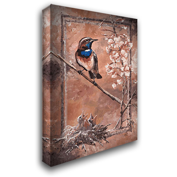 Forage I 27x39 Gallery Wrapped Stretched Canvas Art by Blair, David
