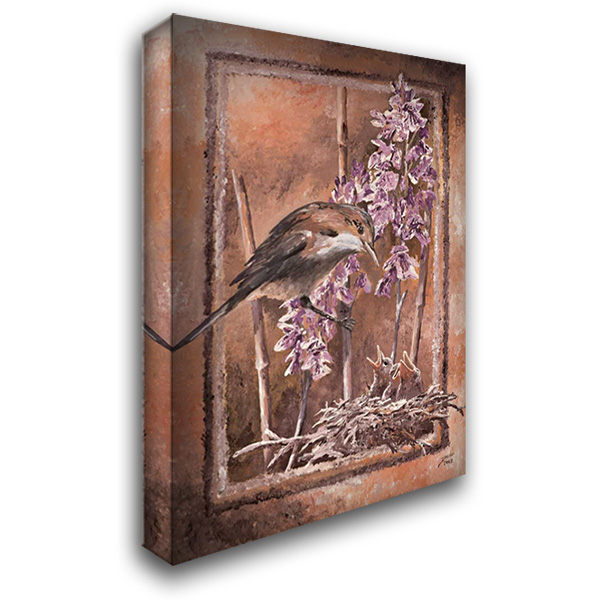 Forage II 27x39 Gallery Wrapped Stretched Canvas Art by Blair, David