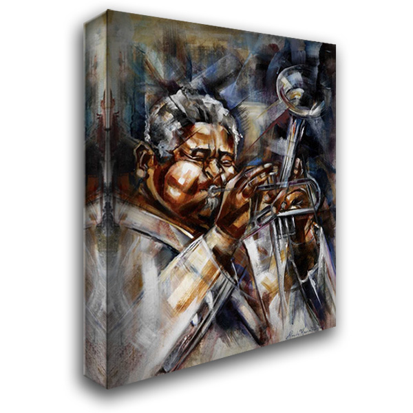 Dizzy 28x36 Gallery Wrapped Stretched Canvas Art by Fields, Wendy