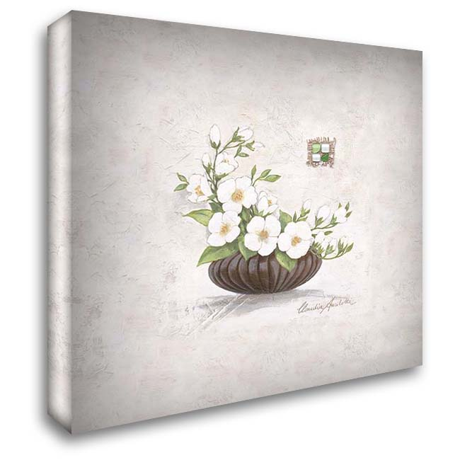 Hanni 28x28 Gallery Wrapped Stretched Canvas Art by Ancilotti, Claudia