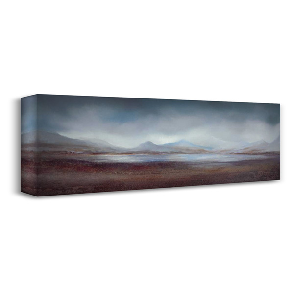 Distant Horizons I 40x16 Gallery Wrapped Stretched Canvas Art by Dworok, Peter