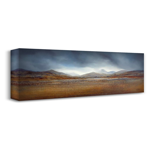 Distant Horizons II 40x16 Gallery Wrapped Stretched Canvas Art by Dworok, Peter