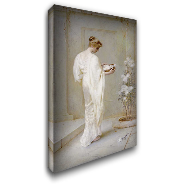 Divinely Fair 24x40 Gallery Wrapped Stretched Canvas Art by Schafer, Henry Thomas