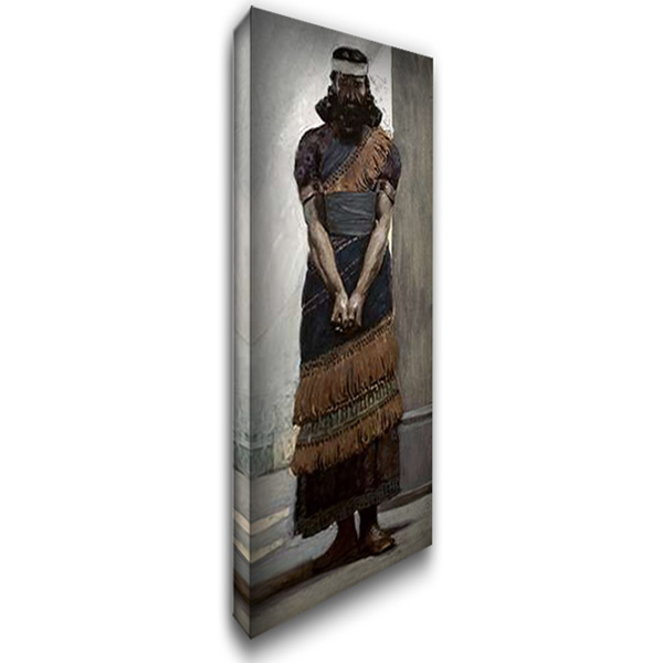 Haggai 19x40 Gallery Wrapped Stretched Canvas Art by Tissot, James
