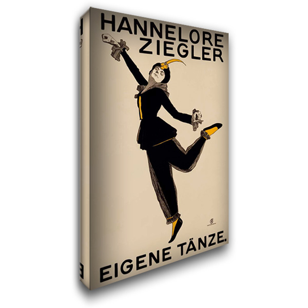 Hannelore Ziegler 27x40 Gallery Wrapped Stretched Canvas Art by Unknown