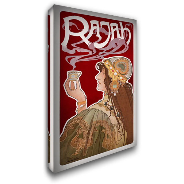 Rajah 24x40 Gallery Wrapped Stretched Canvas Art by Livemont, Privat