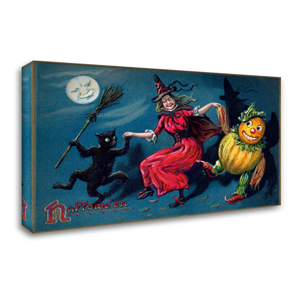 Halloween 40x26 Gallery Wrapped Stretched Canvas Art by Halloween