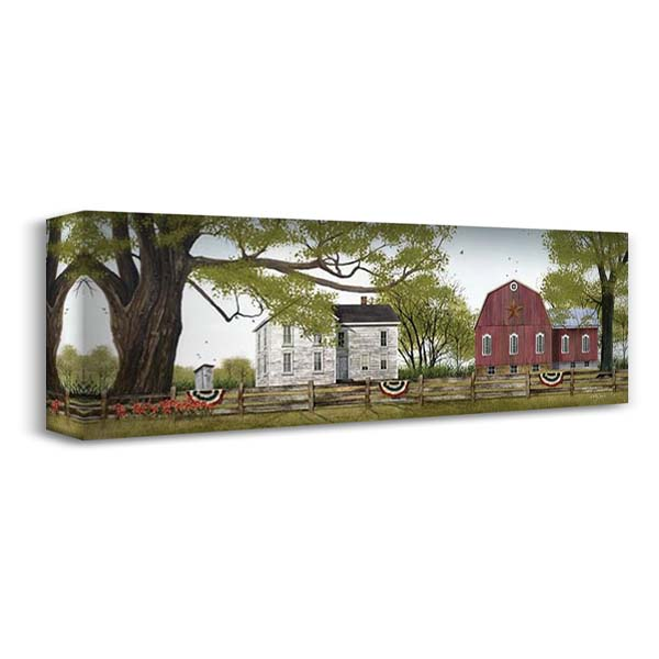 Sweet Summertime 40x16 Gallery Wrapped Stretched Canvas Art by Jacobs, Billy