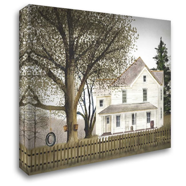 Grandmas House 37x28 Gallery Wrapped Stretched Canvas Art by Jacobs, Billy