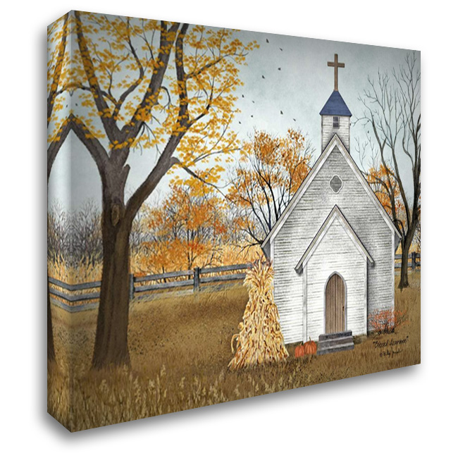 Blessed Assurance 37x28 Gallery Wrapped Stretched Canvas Art by Jacobs, Billy