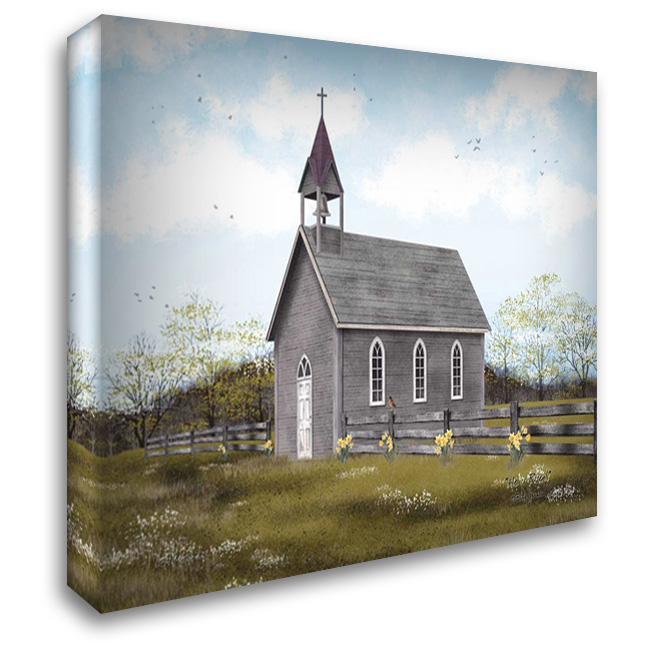 He is Risen 37x28 Gallery Wrapped Stretched Canvas Art by Jacobs, Billy