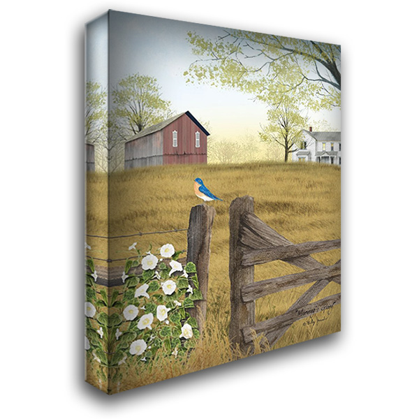 Mornings Glory 28x36 Gallery Wrapped Stretched Canvas Art by Jacobs, Billy