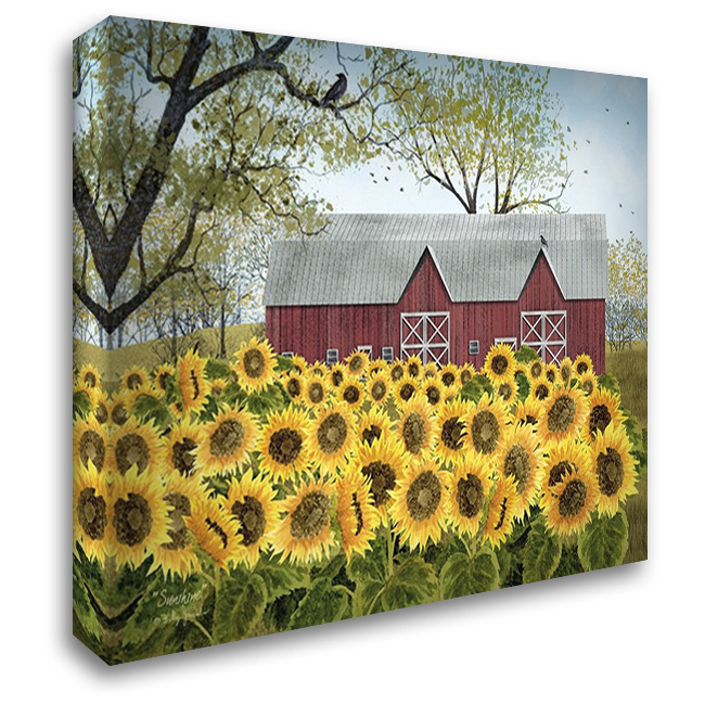 Sunshine 37x28 Gallery Wrapped Stretched Canvas Art by Jacobs, Billy