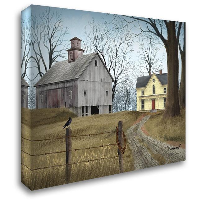 Homeward 37x28 Gallery Wrapped Stretched Canvas Art by Jacobs, Billy