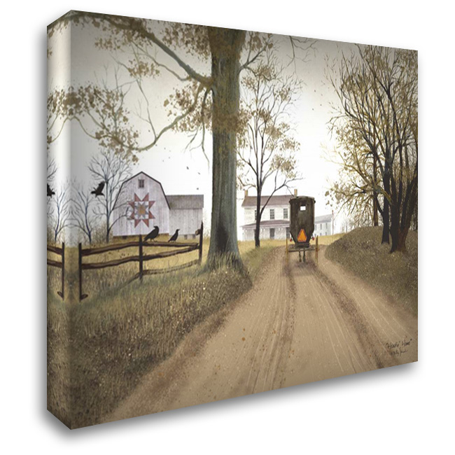 Headin Home 37x28 Gallery Wrapped Stretched Canvas Art by Jacobs, Billy