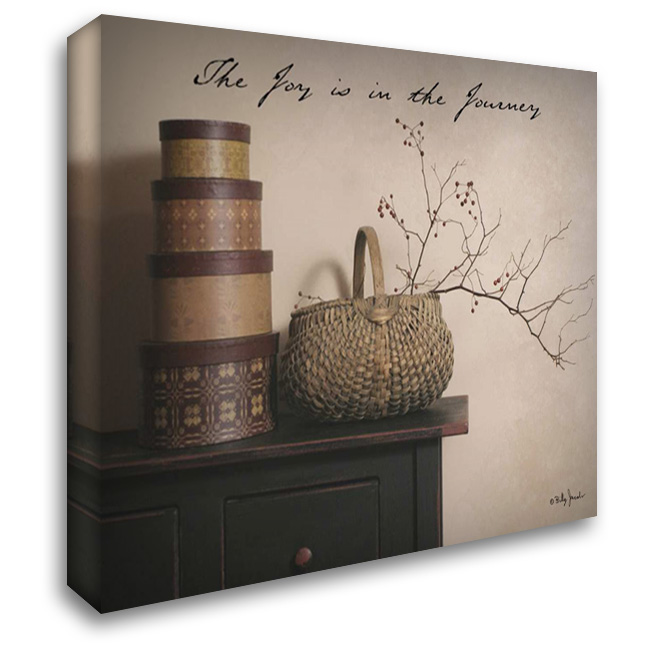 Joy is the Journey 37x28 Gallery Wrapped Stretched Canvas Art by Jacobs, Billy