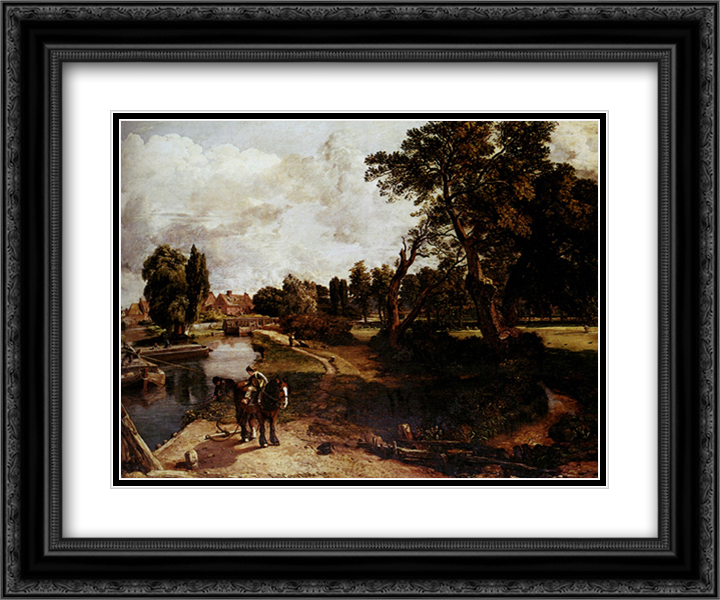 FlatFord Mill John Constable Art Print