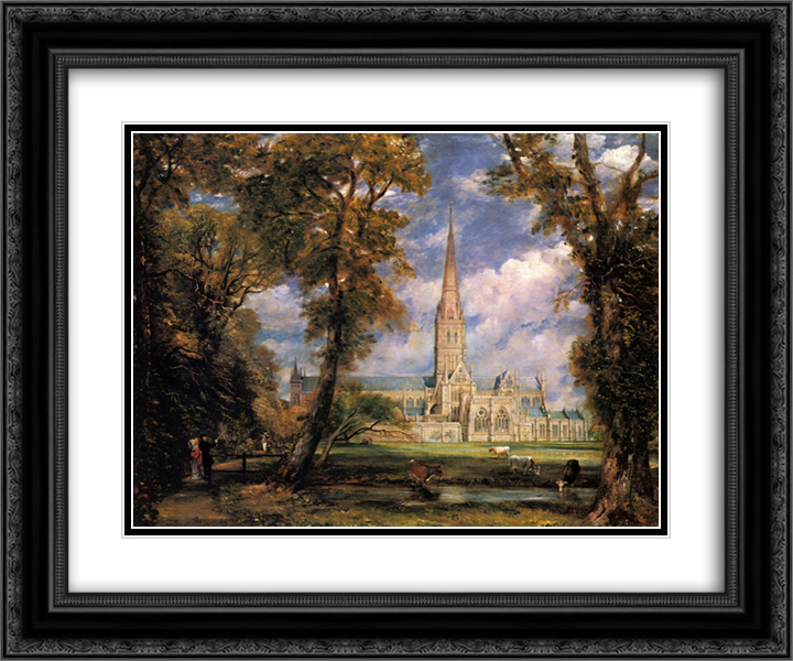 Salisbury Cathedral John Constable Art Print